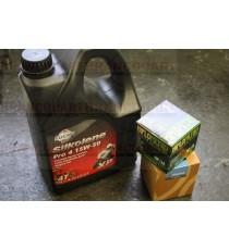 Silkolene Pro4 - 15W50 + Filtre Suzuki Offert